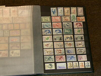 Morocco Lot of Over 230 Cancelled & Mint Hinged Stamps #5643