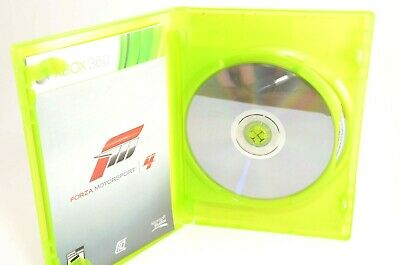 Forza Motorsport 4 (Microsoft Xbox 360, 2011) tested clean disk