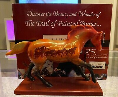 Trail of Painted Ponies - Stagecoach Pony - 1E/ 0269 LOW with Box & Tag