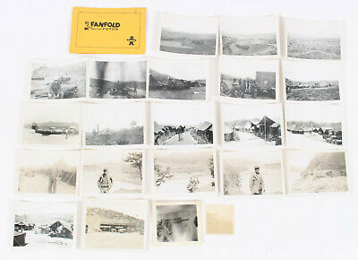 Korean War Us Soldiers War Service Picture Photo Mixed Lot Of 22