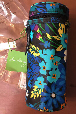 Vera Bradley Bottle Caddy insulated carrier in Midnight Blues NEW WITH TAGS
