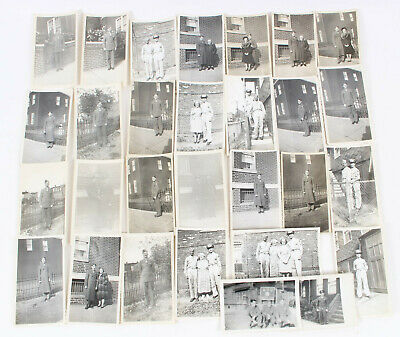 WWII US 2nd ARMORED DIVISION SOLDIERS WAR SERVICE PICTURE PHOTO MIXED LOT OF 29