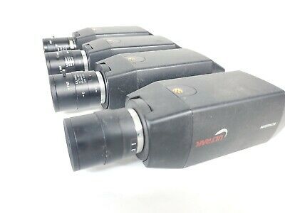 LOT of 4 Ultrak KC550 KC440 Long Range Security Camera