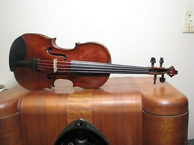 Old Grafted Violin Totally Restored 1700S Italian? Full Size