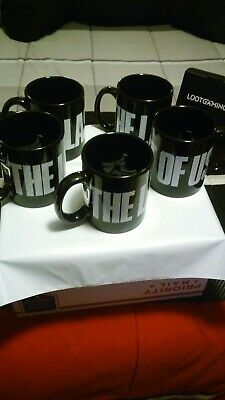 Wholesale Lot Of 5 The Last Of Us Coffee Mug 11oz Loot Crate NEW