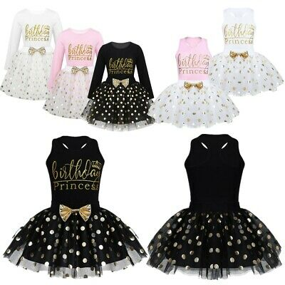 Baby Toddlers Shirt Top with Shiny Polka Dots Tutu Skirt Girls Birthday Outfits