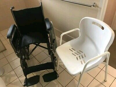 Wheel chair and shower chair