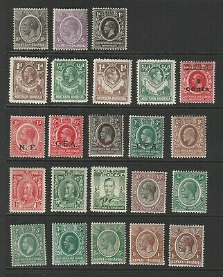 Selection Of African Commonwealth Stamps Mnh