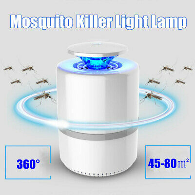 Nonradiative USB LED Electric Mosquito Zapper Killer Insect Bug Trap Lamp Light