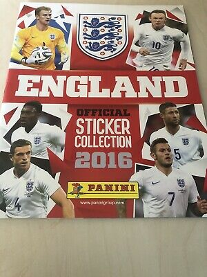 Panini England 2016 Sticker Collection Includes 50 Stickers