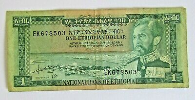 Banknotes> Ethiopia>1 Dollar>1966 Nd Issue<