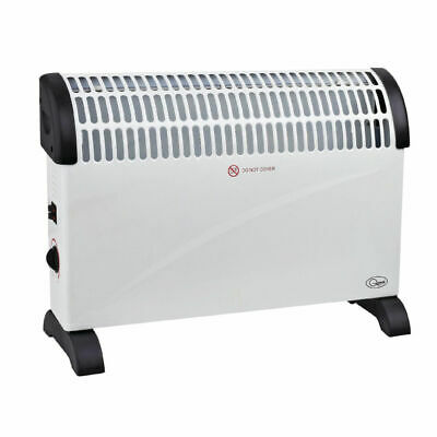 2kW Convector Heater with 3 Heat Settings - royal mail 48 tracked