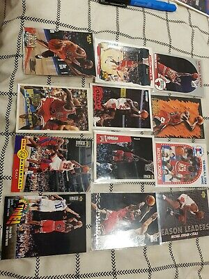 # 24 -Michael jordan lot x 12 inserts awesome cards exc grading as new