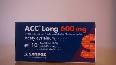 ACC Long,600mg,10 tablets