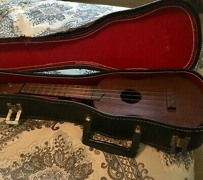Vintage Case For Soprano Ukulele