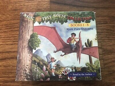 Magic Tree House Collection Books 1-8 Audiobook Mary Pope Osborne
