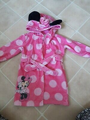 Disney Minnie Mouse Dressing Gown 18/24 Months