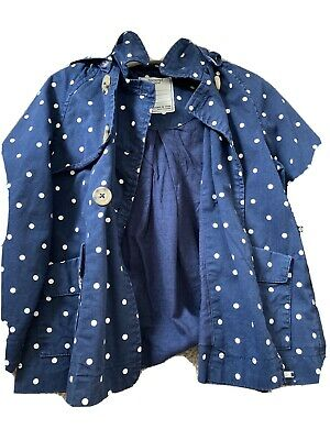 Girls Mayoral baby chic Coat Age 2