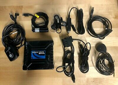 RACELOGIC VBOX LITE 1 CAMERA VIDEO PACKAGE w/ GPS, Mount, cables etc