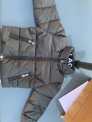 Karl Lagerfield Black Childrens Jacket. Age 3years. RRP £135.Brand New With Tags