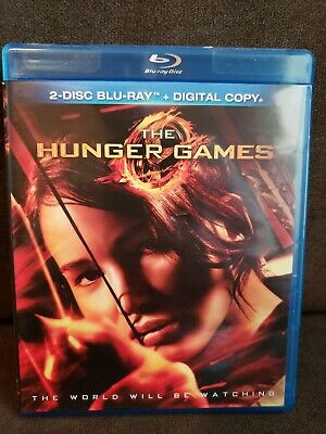 The Hunger Games (Blu-ray Disc, 2012, 2-Disc Set) discs in great shape, tested