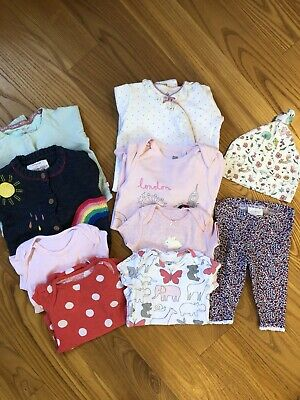 baby girls clothes bundle 0 3 months, Next, Marks & Spencer