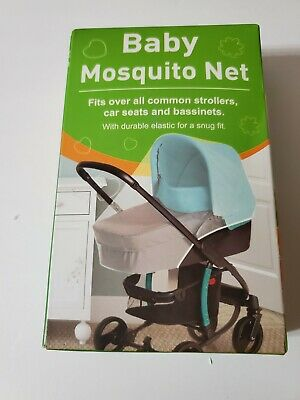 Universal Baby Stroller Pushchair Mosquito Insect Net Cover 51x43 Car Seat US