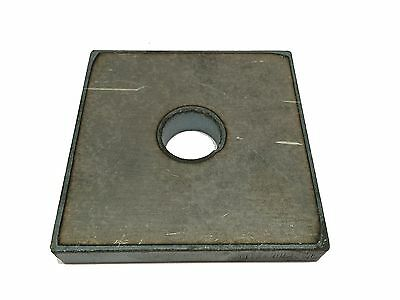 "1/4"" x 2'' x 3"" with a 9/16'' hole, A36 steel, Bracket"