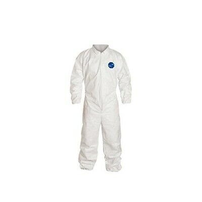 Dupont Tyvek 400 D13397918 Large White Coverall Qty 25
