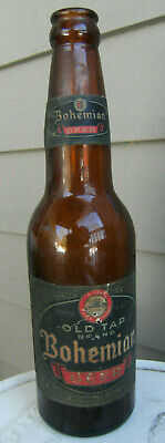 Vintage, OLD TAP Bohemian Beer bottle(empty) 12 oz. Fall River, Mass. 1942