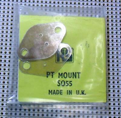 SO55 Transistor Mounting Pads and Mica RS RadioSpares 4 in Pkt