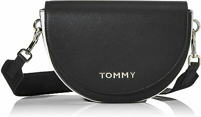 ZAINO DONNA TOMMY Hilfiger tommy staple dome backpack BLACK