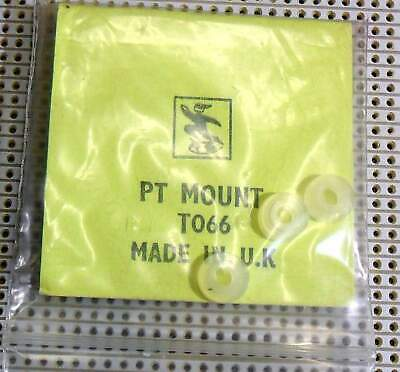TO66 Power Transistor Mounting Pads and Mica RS RadioSpares 4 in Pkt (incomplete