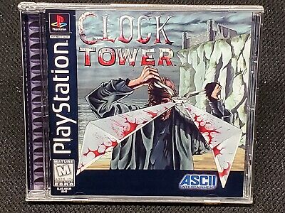 Reproduction Clock Tower (PS1) No Disc
