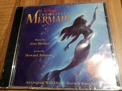 Disney's The Little Mermaid (Motion Picture Soundtrack) CD Album (1998)