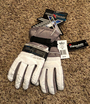 Women's ZeroXposure Thinsulate Gloves Gray And  Dove Color S/M NWT