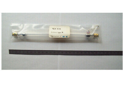 High-energy, pulsed linear flashlamp to pump Nd:glass or ruby laser rods, new