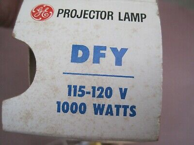 GE PROJECTION LAMP LIGHT BULB VINTAGE dfy RETRO ELECTRONIC NOS  PROJECTOR