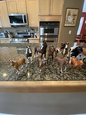 Lot Of 17 Schleich Horses
