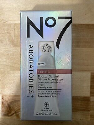 New! No7 Boots Laboratories Firming Booster Serum 1oz  Free SHIPPING