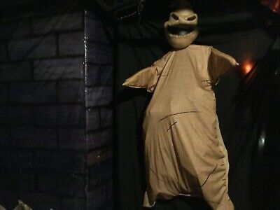 Nightmare Before Christmas Oogie Boogie 5FT Disney Hanging Prop Decor Rare NWT!