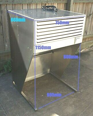FED HOOD750A Bench Top Commercial Filtered Hood Ductless Canopy
