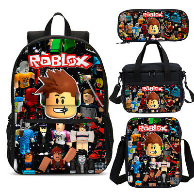 Galaxy Music Roblox Boys Back to School Backpack Bookbag Lunch Bag Set Lot Gifts