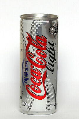 2000's Coca Cola Light can from Korea (250ml) (6)