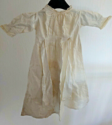 Antique Clothing - Victorian/Edwardian White Small Childrens Dress/Nightdress