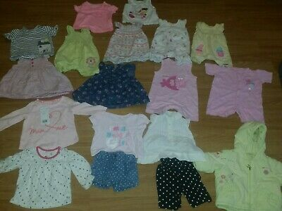 Baby Girls Clothes Bundle 0-3 Months  (1)