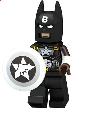 █ Buy 2 Get 1 Free █ Batman Captain America Custom Mini Figure MOC PG8124 1531