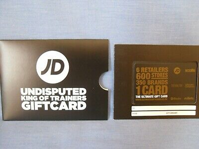 £55 JD Gift Card Voucher, Scotts, Millets, etc  Balance Verified - Delivery Only