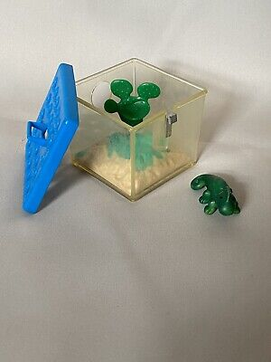 Littlest Pet Shop | Kenner | Vintage 1992 | Chameleon Lizard Cactus