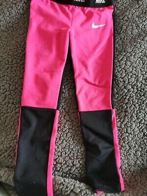 Nike Girls Sports Leggins Age 5